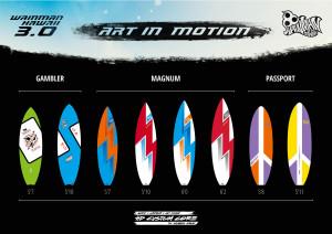 Wainman Hawaii Surfboard 3.0